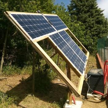 2Pcs 4Pcs 10Pcs 100W solar panel Monocrystalline Solar Cell Flexible for Car/Yacht/Steamship 12V 24 Volt 100 Watt Solar Battery 6