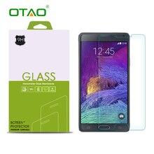 Закаленное Стекло-Экран Протектор Для Samsung Galaxy S2 S3 S4 S5 S6 примечание 3 4 5 Фильм HD Clear 9 9н 2.5D 0.33 мм с Розничной пакет