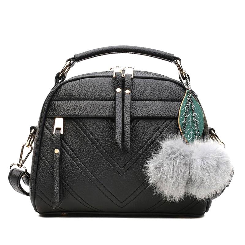 New Arrival Women PU Leather Messenger Handbag Shoulder Bag Crossbody Satchel Sling Women Bag High Quality Casual Female Bags