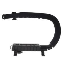 C Shape Bracket Video Stabilizer SLR Camera Mini DV Camcorder Bracket