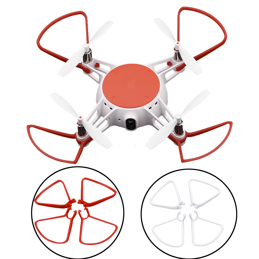 4PCS Propeller Protector For Xiaomi MiTu Camera Drone Spare Parts Accessories Blades Wing Protective Cover Blade Protector Kits