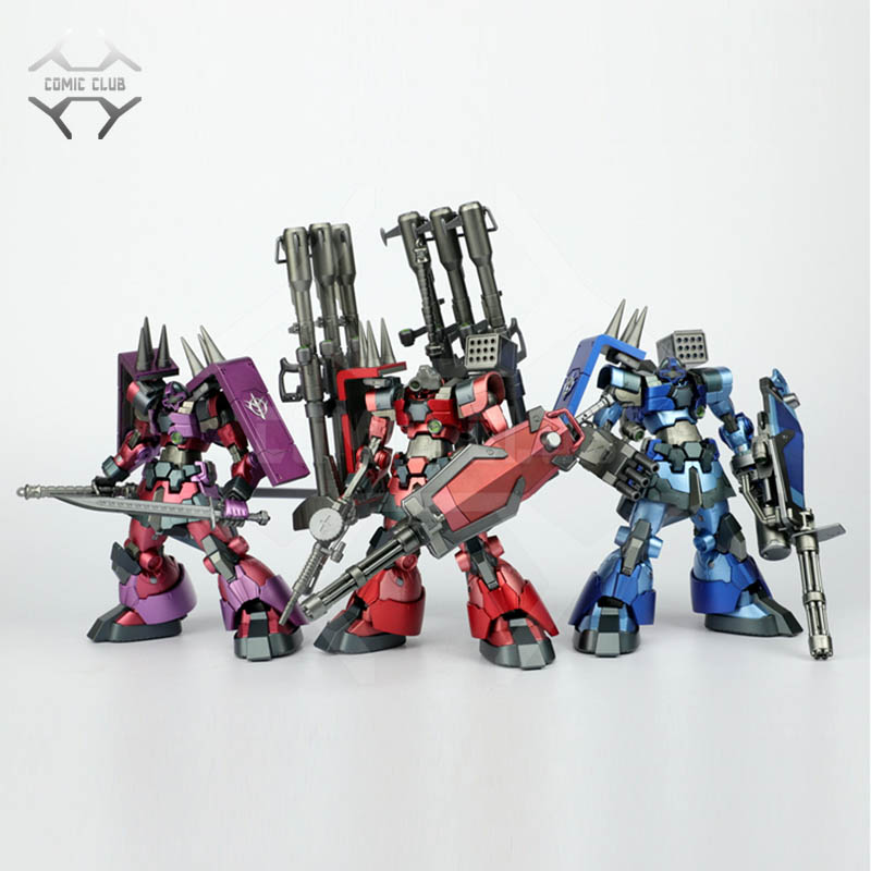 COMIC CLUB IN-STOCK 1/100 Mb Metalbuild Rick Dom Eva/red/blue/purple Color Gundam High Quality SCMEX Action Figure Robot