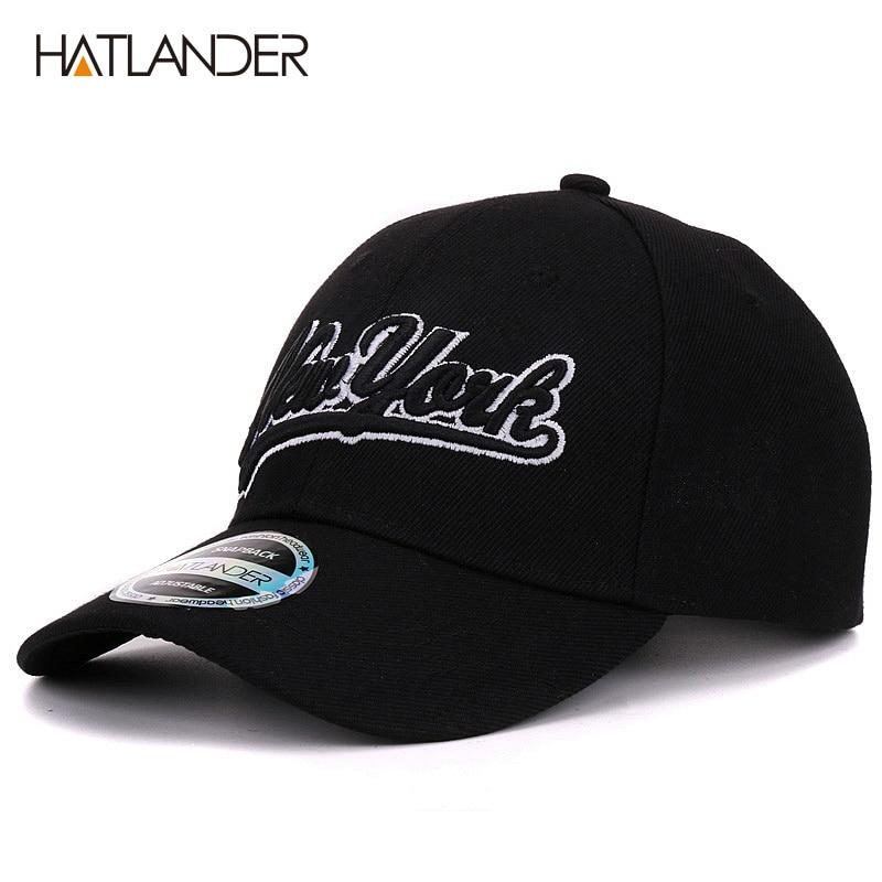 New York black baseball caps Las Vegas adjustable sports cap gorras ... 05e087f7d151