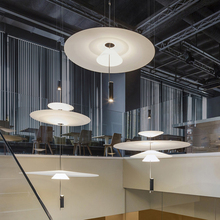 Decorative Shadow Acrylic LED Pendant Light Dinging Room Kitchen Foyer Light Art Designer Hanging Lamp Indoor Lighting Luminaire