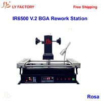 Free Shipping Cheap Infrared BGA Rework Station LY IR6500 V 2 With RS232 To USB Port