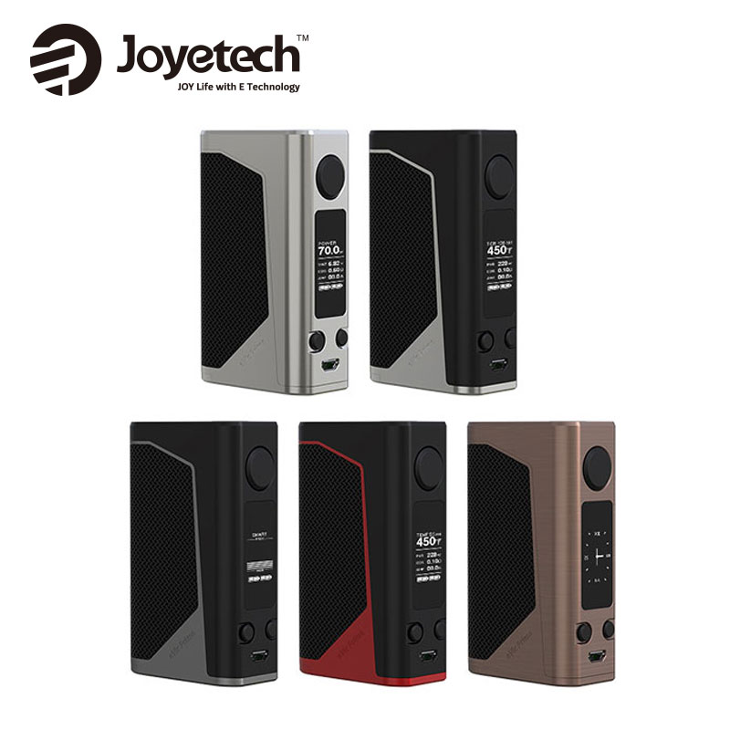 100% Original 228W Joyetech EVic Primo 2.0 TC Box MOD for VW/VT (Ni, Ti, SS316)/TCR/Smart/RTC/USB Charge Mode No 18650 Battery цена