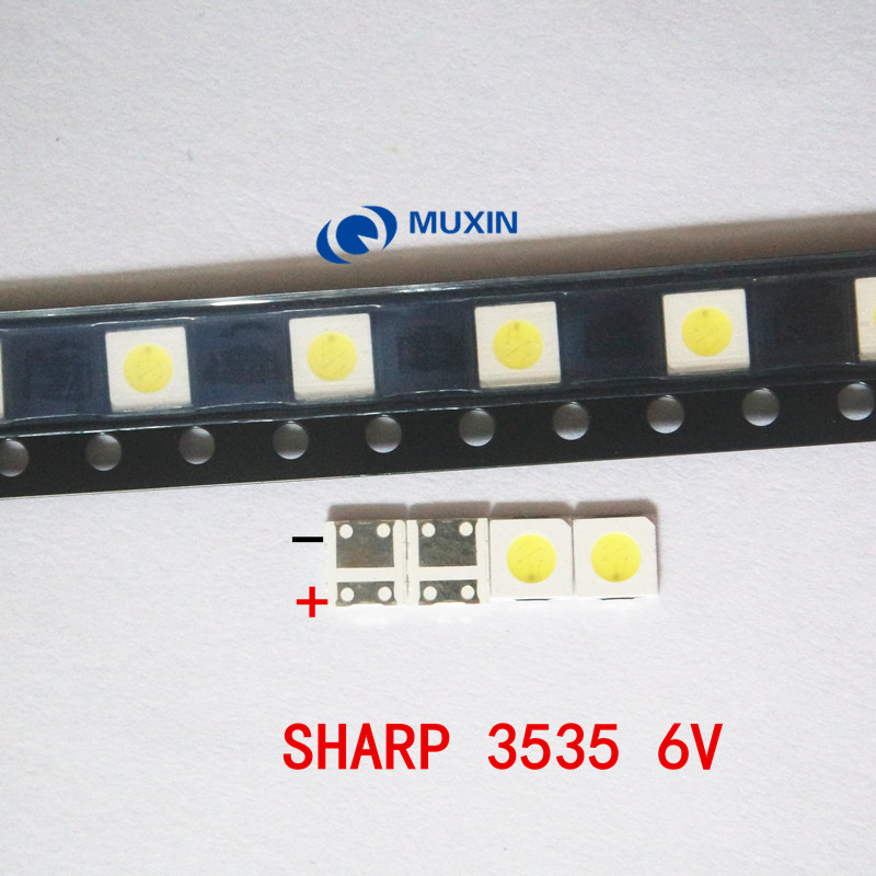 Smart For Sharp Led Lcd Backlight Tv Application Led Led Backlight 1w 6v 3535 3537 Cool White Led Lcd Tv Backlight Gm5f20bh20a Easy To Repair Diodes Back To Search Resultselectronic Components & Supplies
