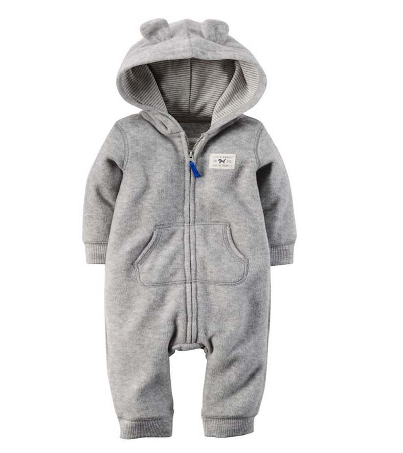 4170a730c8b0 casaco infantil bebes snow clothes Winter Rompers hoodies roupa kids ...