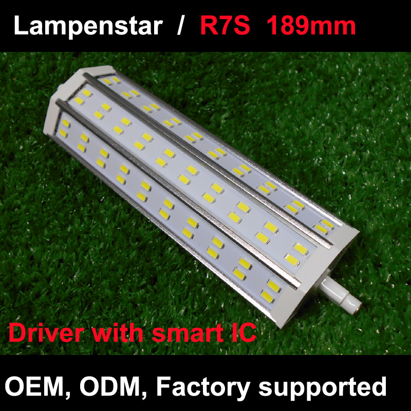 led lamp r7s 189mm SMD5730 12W 20W 25W 25W 30W LED corn Light  spotlight Bulb Halogen Replacement 110V/220V AC85-265V 3pcs brelong g9 12w 1200lm smd 5730 led corn light