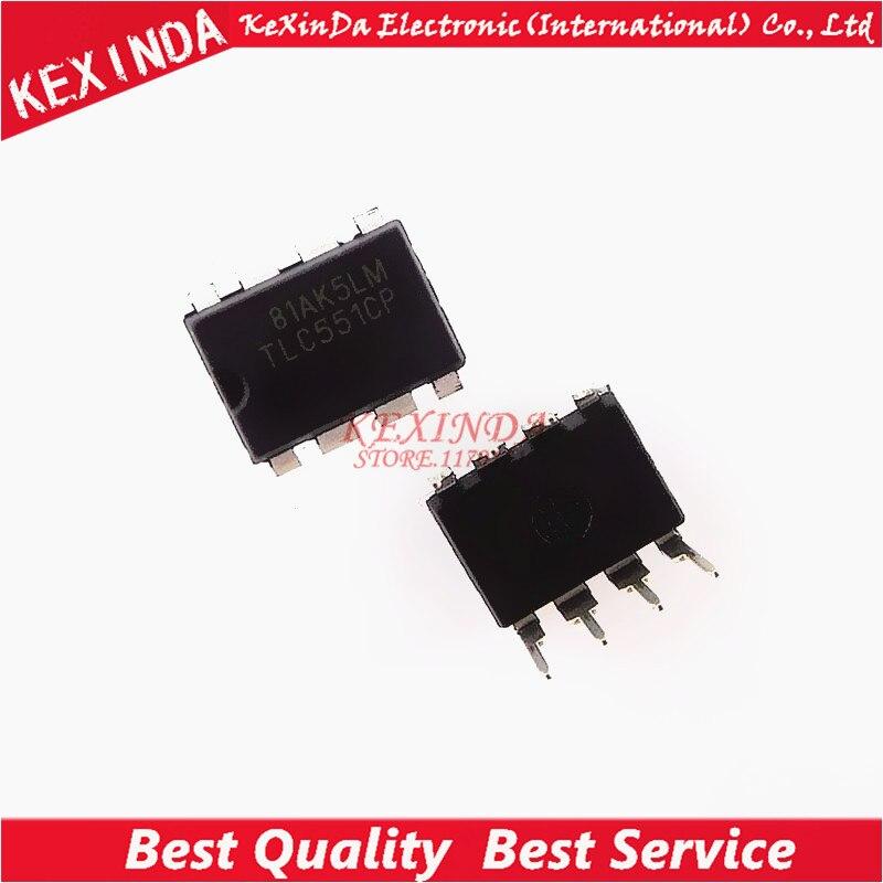 TLC551CP TLC551C TLC551 DIP 8 IC 100pcs lot Free shipping