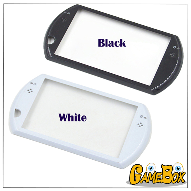US $2 84 5% OFF|Original Shell Case Face Side Cover For PSP GO Console  Housing Case Front Frame Without Screen Only Frame Color Black & White-in