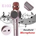 Волшебный Микрофон Караоке E103 Беспроводная Связь Bluetooth Профессиональный Микрофон К Песню Открытый КТВ Динамик Для ПК iOSAndroid PK Q7 bm88