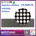 16 * 64 F3.75 из светодиодов дисплей 76 * 304 мм из светодиодов матрица P4.75 крытый из светодиодов экран цифровой из светодиодов рекламных щитов diy