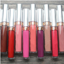 Sexy 10 Color Liquid Waterproof Elegant Matte Smooth Lipstick Lip Stick Lipgloss Long Lasting Sweet Girl Lip Makeup D181