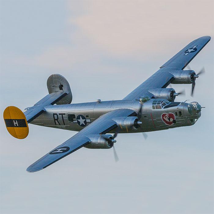 Modèle d'avion RC aile libre Flightline 2000mm envergure B24 B-24 libérateur PNP