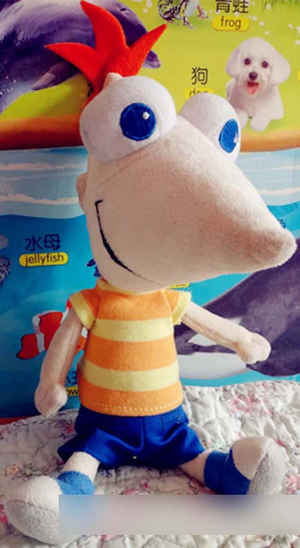 New Arrival Original Anime Phineas and Ferb Cute Soft Plush Toy Doll Birthday Children Gift Limited Collection trollope anthony phineas finn