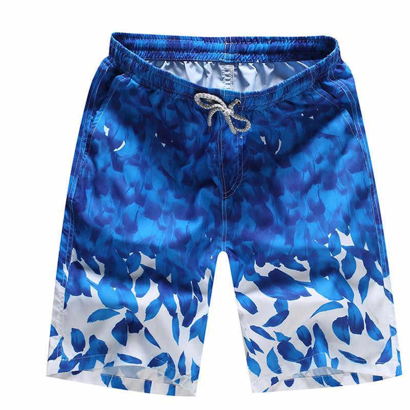 4XL baño 2018 natación de verano Pantalones cortos para hombres Surf  pantalones cortos trajes de baño 26f4a530cf4