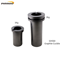 free shipping 1KG Capacity Graphite pot,Gold Melting Furnace accessories,Graphite Crucible,jewelry melting crucible