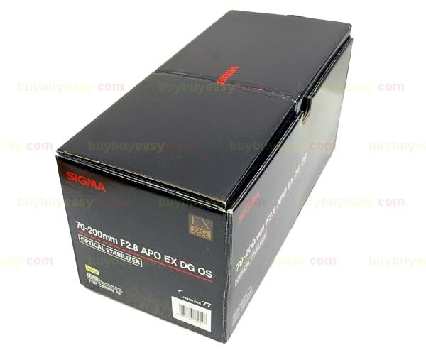 Genuine Sigma APO 70-200mm F2.8 HSM EX DG OS Lens For Nikon genuine sigma apo 70 200mm f2 8 hsm ex dg os lens for nikon