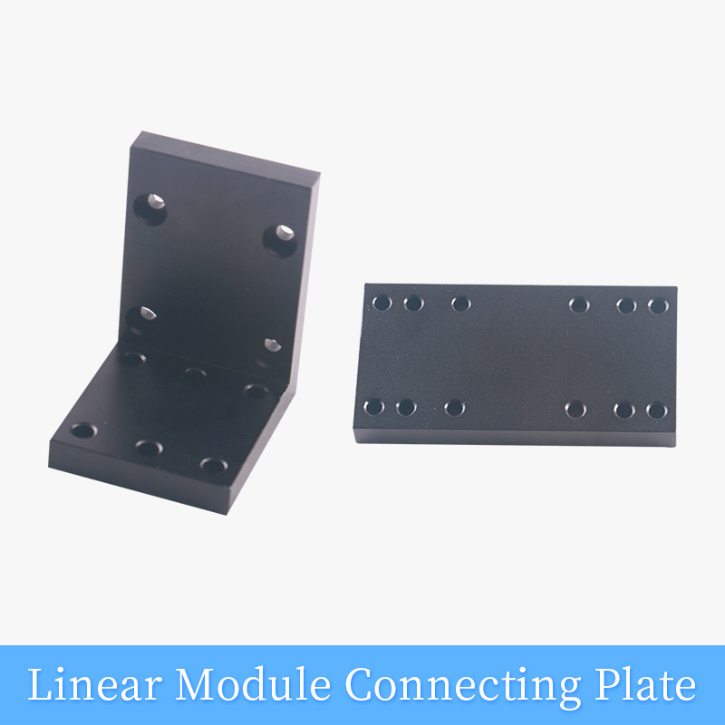 Connection Plate Corner Brackets For CNC Linear Motion Module XYZ Stage Slide Table