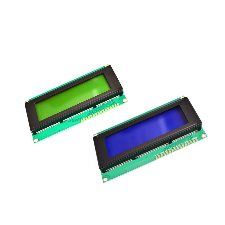 Bleu vert LCD 2004 20x4 caractère LCD Module d'affichage HD44780 contrôleur écran bleu rétro-éclairage pour