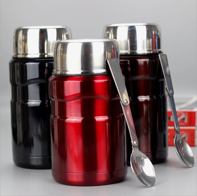 700ml Thermos for Food Large Vacuum Flasks lunch box Insulated Soup Porridge Box Outdoor Termos Coffee Mugs Thermoses Thermocup