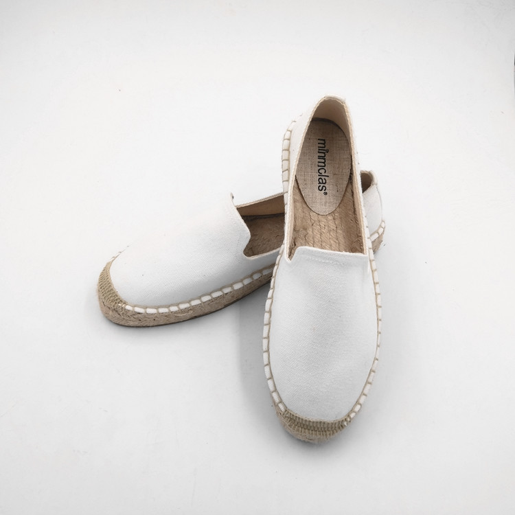 2019 New Fashion Embroidery Comfortable Palform Ladies Womens Casual Espadrilles Shoes Breathable Flax Hemp Canvas for Girls 7
