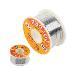 0.5mm-2.0mm 50g/100g linka ołowiana przewód z kalafonii cienki drut do lutowania druty spawalnicze do lutowanie elektroniczne 63/37 wysokiej jakości
