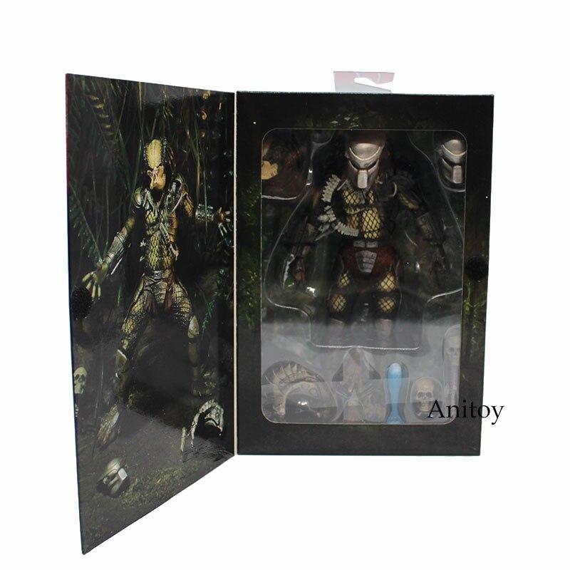NECA Alien VS Predator Jungle Hunter PVC Action Figure Collectible Model Toy 20cm