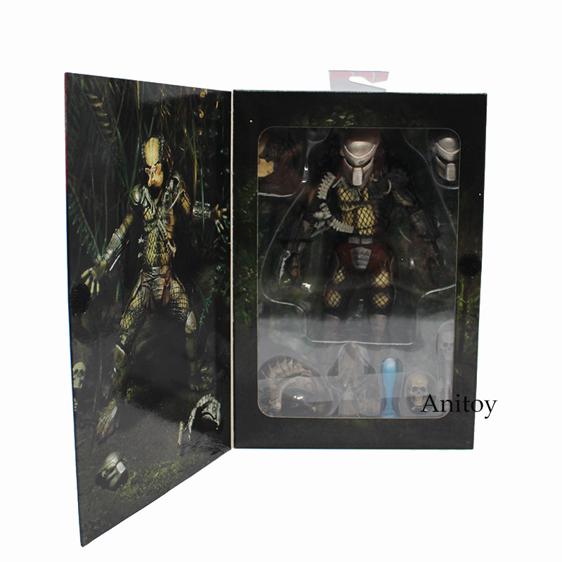 все цены на NECA PREDATOR Jungle Hunter PVC Action Figure Collectible Model Toy 20cm онлайн