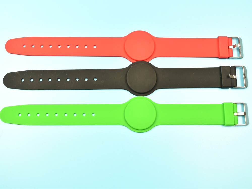 50 pcs 125 Khz RFID t5577 Étanche Proximité Réinscriptibles Smart Réglable Bracelet Bracelet ID Carte