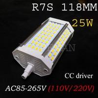 R7S 30W 118mm Led Bulb R7S Light J118 R7S Lamp Without Fan Replace Halogen Lamp AC110