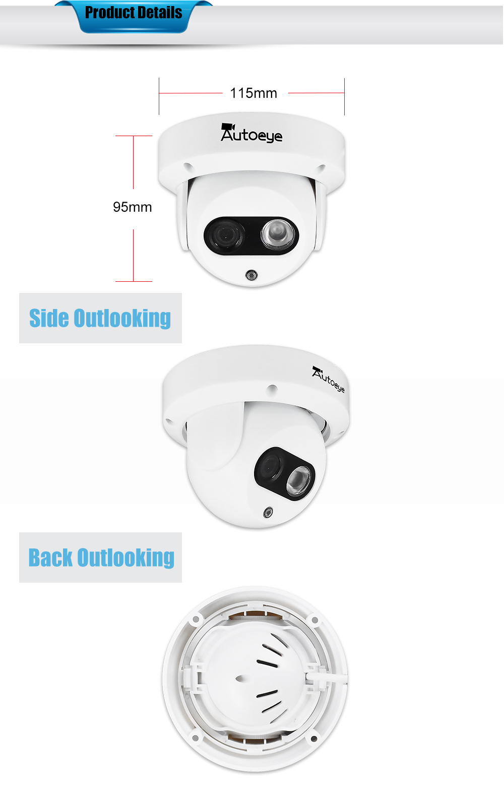 domo USD CCTV Cámara 7