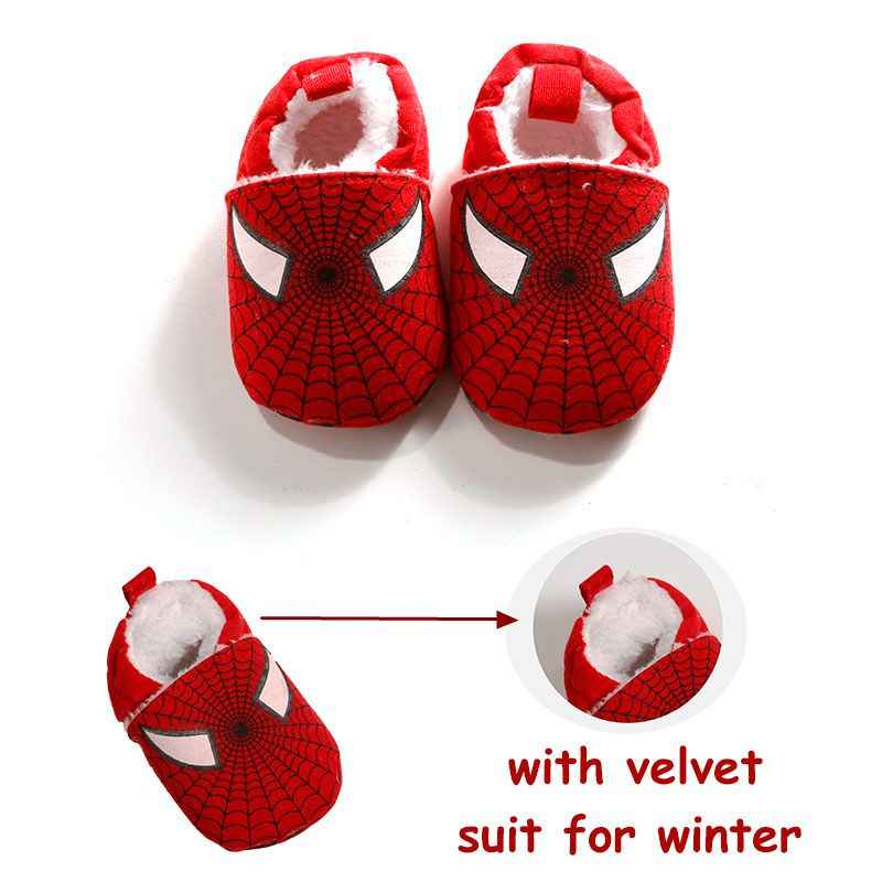 d2ed2629b Detail Feedback Questions about 2018Winter Baby Velvet Shoes Spider ...
