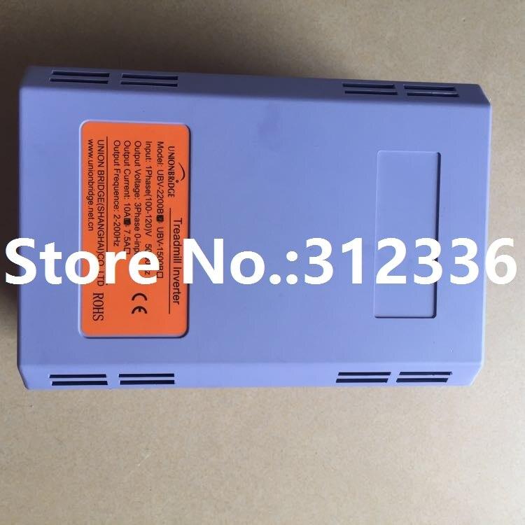 Livraison Gratuite 110 V UBV-2200 UBV-2200B 6 interfaces Onduleurs Convertisseurs costume pour tapis roulant et ainsi de suite