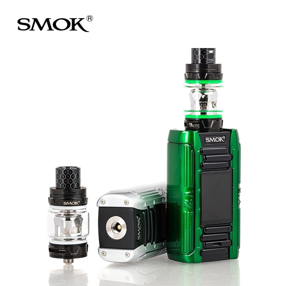 Original SMOK E-Priv Kit 230W with TFV12 Prince Tank 8ml +V12 Prince Mesh Coils For Electronic cigarette smok e priv box mod kit