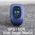 GPS Smart Watch Дети Умный Браслет Браслет SOS Вызов Anti Потерянный расположение Finder Locator Tracker для Детей Малыша Дети Детские Q50 Q60