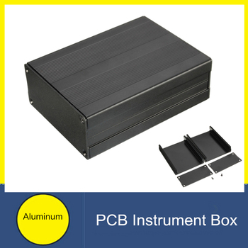 100x76x35mm Extruded Aluminum Project Electronic PCB Box Instrument Case