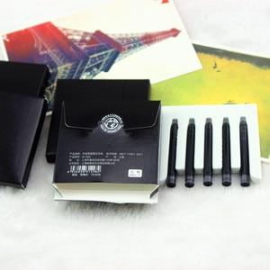 Image 1 - 20 قطع بيكاسو نافورة القلم الحبر عالية الجودة مكتب واللوازم المدرسية خرطوشة الأسود 100% جديد