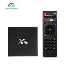Android TV Box X96 Amlogic S905X Quad Core Android 6.0 1G 8G TV Box Wifi HDMI 2.0A 4 K * 2 K Kodi Médias Lecteur Set top box