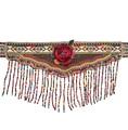 womens clothing accessories Gypsy Turkish Bohemian Belt Body Chain Ethnic belt dresses Retro leather belt flower belt Cummerbund