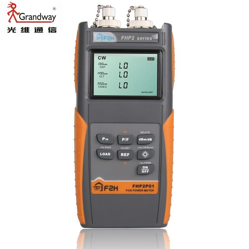 Grandway PON Power Meter Fiber Optic FTTH 1310/1490/1550nm