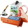 SUNKKO 709AD + точечный сварщик 3.2KW Автоматическая точечная Импульсная Сварка машина постоянная температура паяльник ручка для литиевой батареи