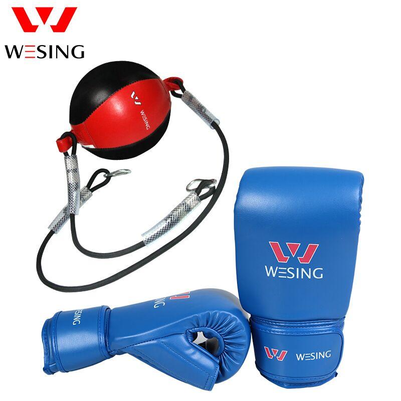 Pro équipement de boxe de boxe vitesse de balle de boxe gants martiaux art fintness équipement sac de frappe de boxe gants