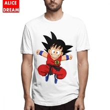 Dragon ball t shirt Goku Tee Unisex Unique Design T-Shirt 100% Cotton Big Size Homme T Shirt Birthday GIft T shirt 3D Print t shirt casual cowboy bebop tee shirt unique design camiseta round collar s 6xl tee birthday gift t shirt 3d print