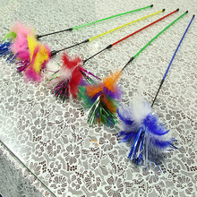 3pcs Traditional Cats Teasing Feather Sticks