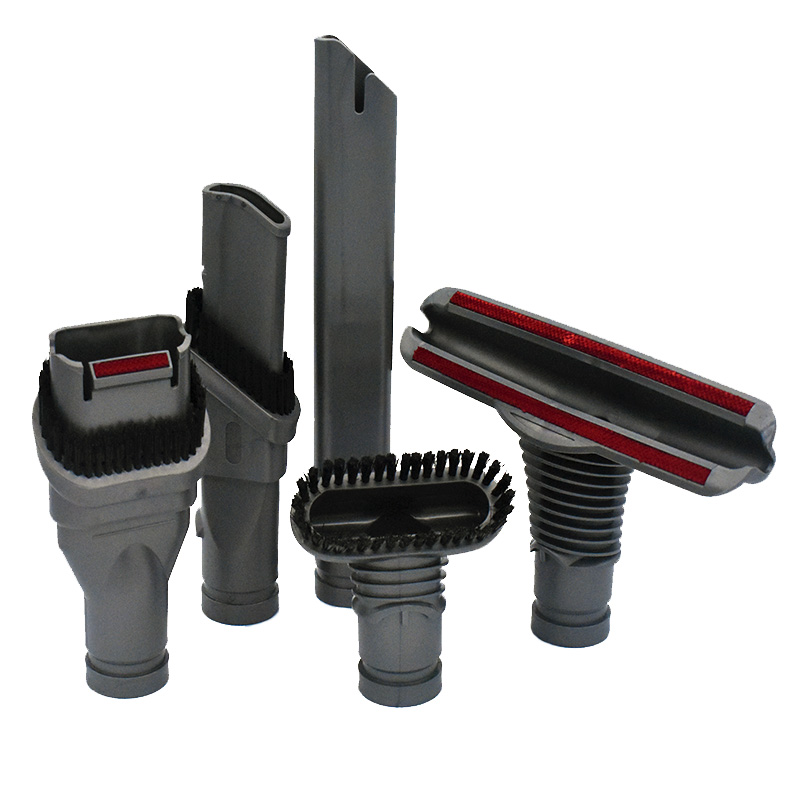 5pc/Set Black Plastic Home Cleaning Brush Tool Attachment Kit For Dyson DC34 DC35 DC44 DC50 DC56 DC24 V6 Home Appliance Parts5pc/Set Black Plastic Home Cleaning Brush Tool Attachment Kit For Dyson DC34 DC35 DC44 DC50 DC56 DC24 V6 Home Appliance Parts