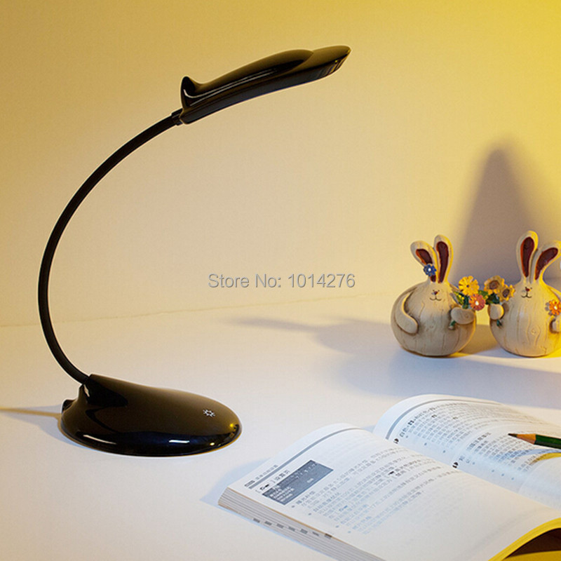 aliexpresscom buy modern black white flexible dolphin led table desk lamp for home office work study reading book from reliable lamp suppliers on maimon black white home office study