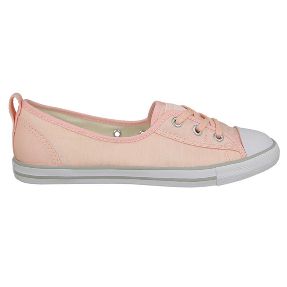 Walking Shoes CONVERSE Chuck Taylor all Star Ballet Lace 555871 sneakers for female TmallFS kedsFS zipper side lace up pu sneakers