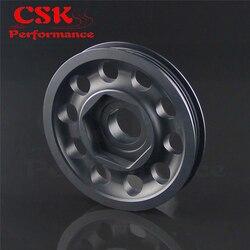 Гоночный светильник, шкив из сплава для Civic EK9 Integra DC2 Type R CTR BLACK